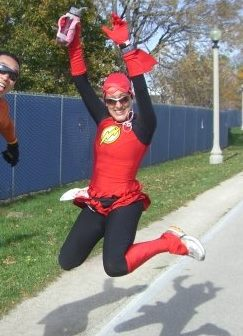 My first 50k (Lakefront 50k), October 2010