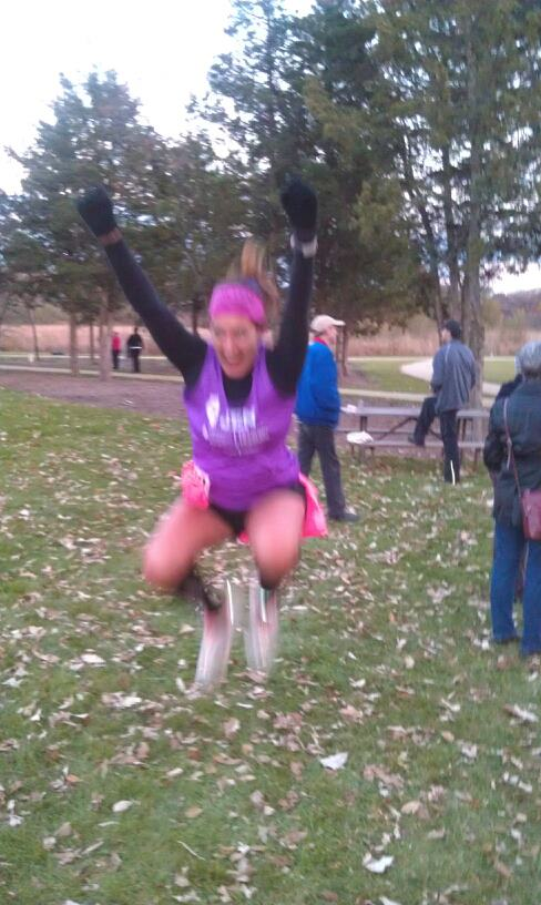 My first 50 Mile Race in October, 2012