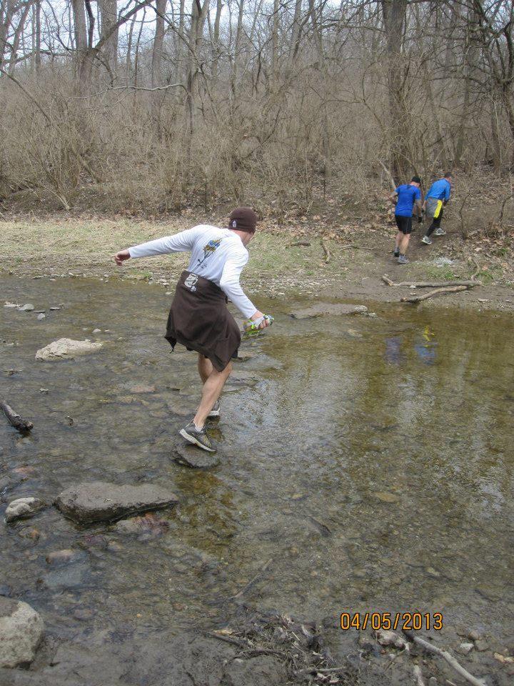 Stream and creek crossings