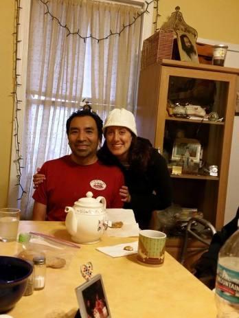 Jen and Alfredo before Pot