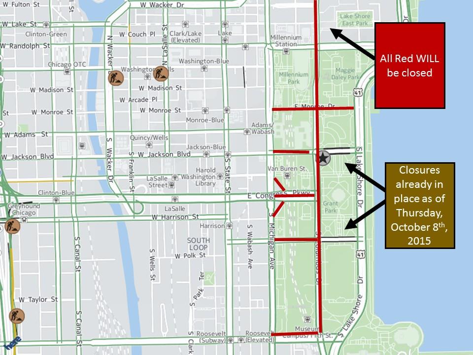 Chicago Marathon Closures