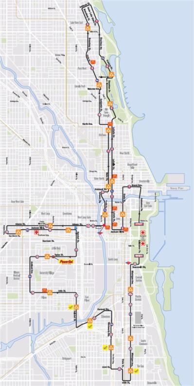 Chicago Marathon Course