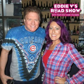 Eddie and Jen did NOT plan to match...but they came Cubs ready.
