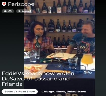 Live on Periscope