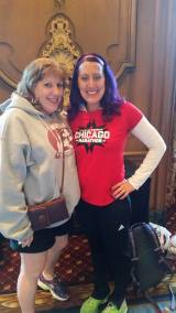 Mom and I after the race!