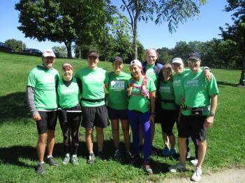 Coaches at the 20 Mile Training Run